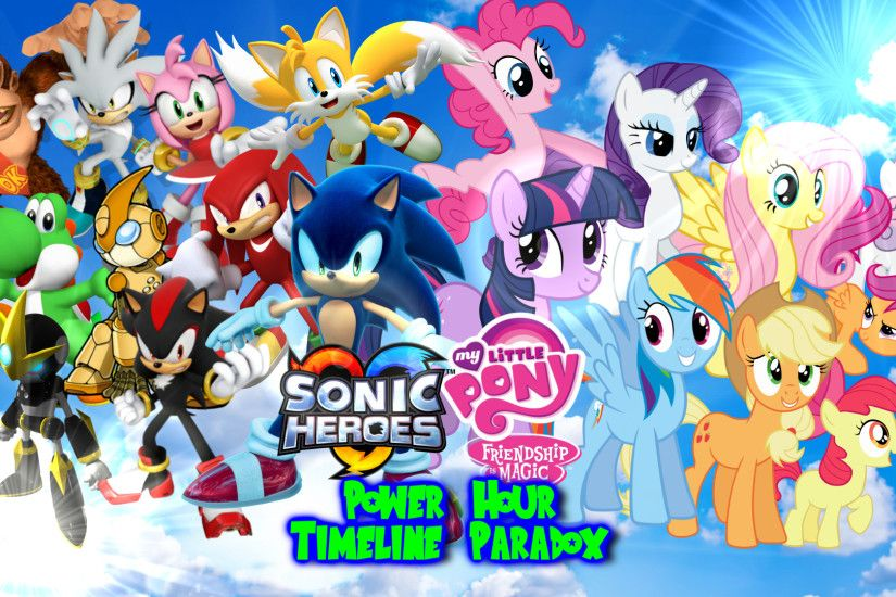 Sonic and My Little Pony Wallpapers 2016 to 2017 by .