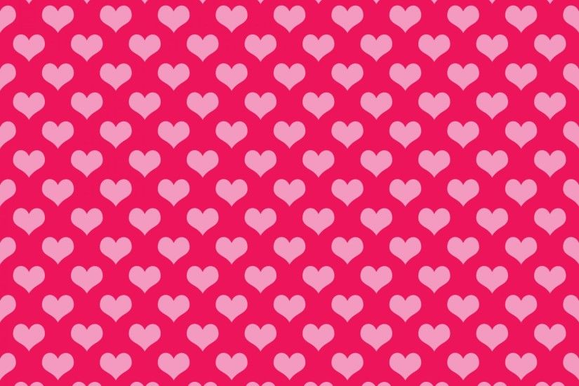 Hearts Background Wallpaper Pink