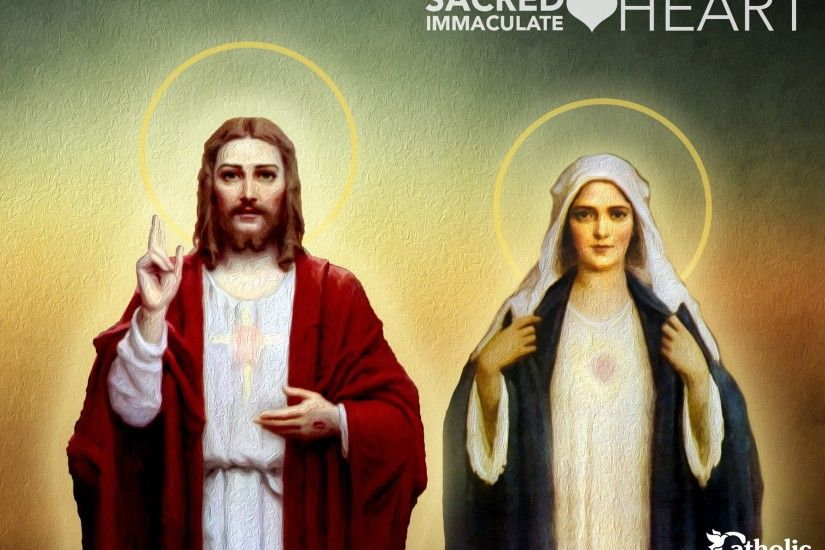 Sacred Heart — Immaculate Heart Blessed be the Most Loving Heart and Sweet  Name of Our Lord Jesus Christ and the most glorious Virgin Mary, His  Mother, ...