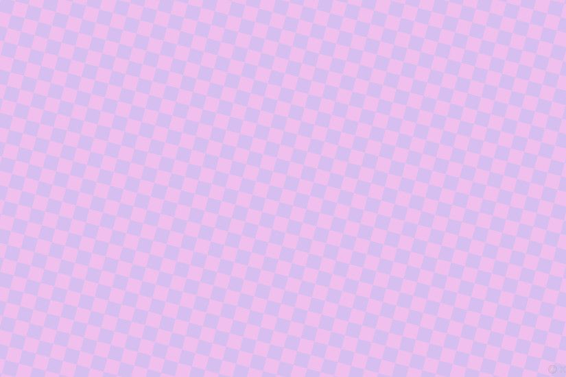 wallpaper violet magenta checkered squares light violet light magenta  #d6bff0 #f0bfed diagonal 75°
