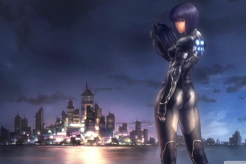 free ghost in the shell wallpaper 2560x1440 for macbook