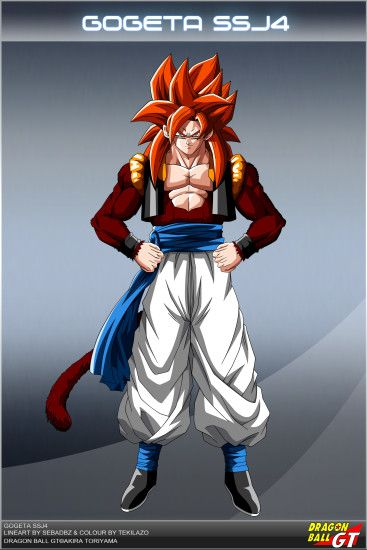 Dragon Ball GT - Gogeta SSJ4 OV by DBCProject.deviantart.com