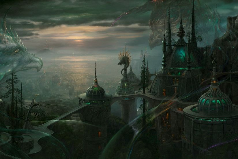 fantasy cities | Fantasy - City Wallpaper