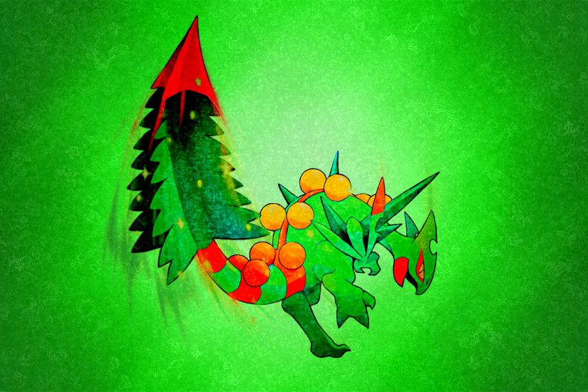 Mega Sceptile: My Sceptile, Grecki, was one of my first Pokemon to .