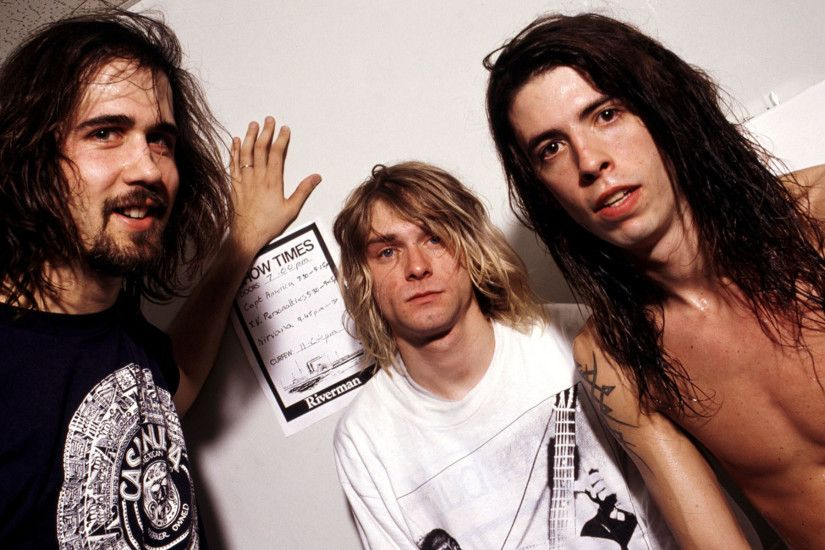 Dave Grohl Nirvana Kurt Cobain | Kurt Cobain Nirvana Dave Grohl wallpaper  background