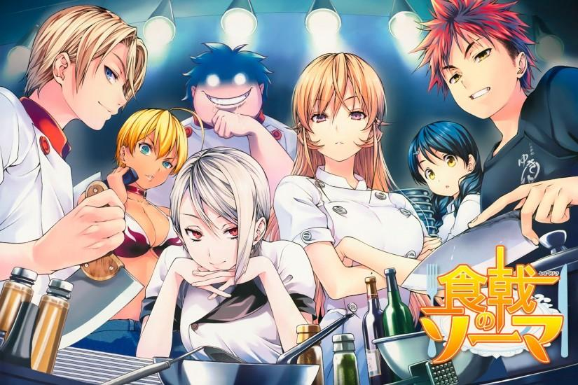 shokugeki no soma wallpaper 1920x1391 htc
