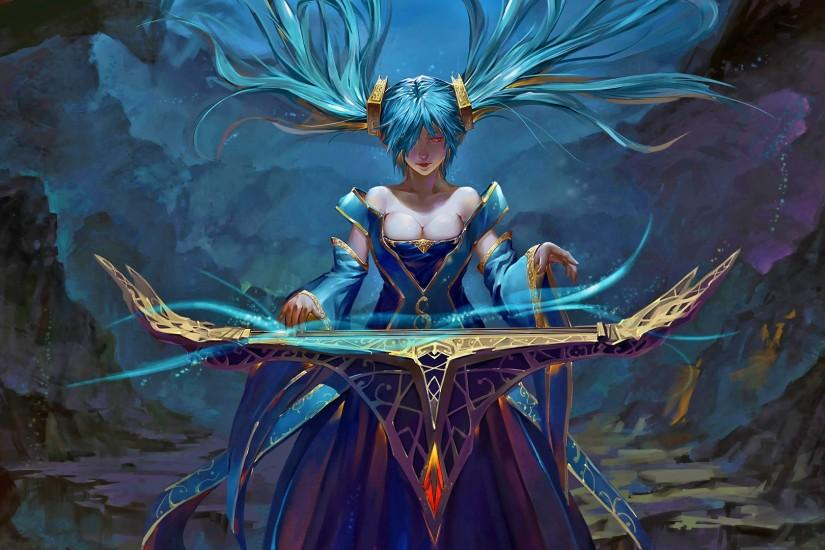 84 Sona (League Of Legends) HD Wallpapers | Backgrounds - Wallpaper Abyss