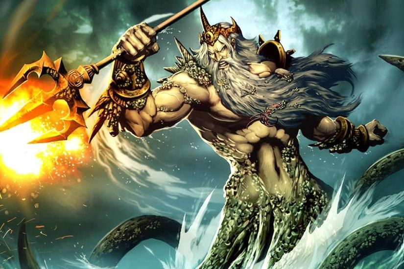 ... Top 31 Poseidon Greek God Of The Sea Images And Hd Wallpaper ...