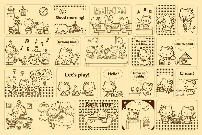 ... Wallpaper Sanrio - adam 613ca ...