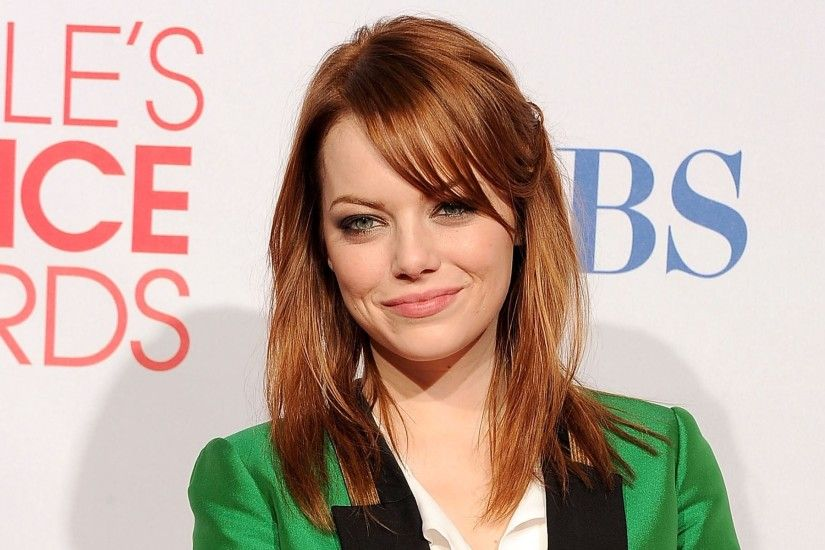 Emma Stone hair HD 1080p