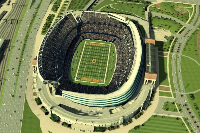 Chicago Bears Stadium Wallpaper 726428 ...