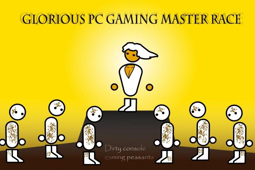 large pc master race wallpaper 1920x1080 screen