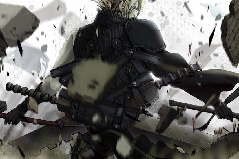 Cloud Strife Wallpaper 1920×1080