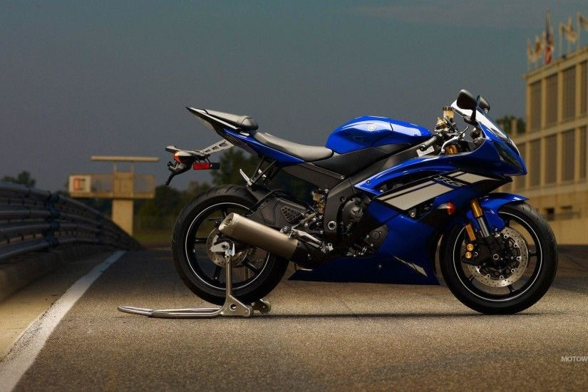 Motorcycles desktop wallpapers - Yamaha YZF-R6 - 2012