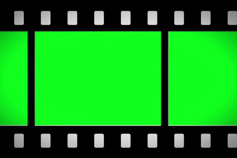 Greenscreen moving film strip animation Stock Video Footage - VideoBlocks