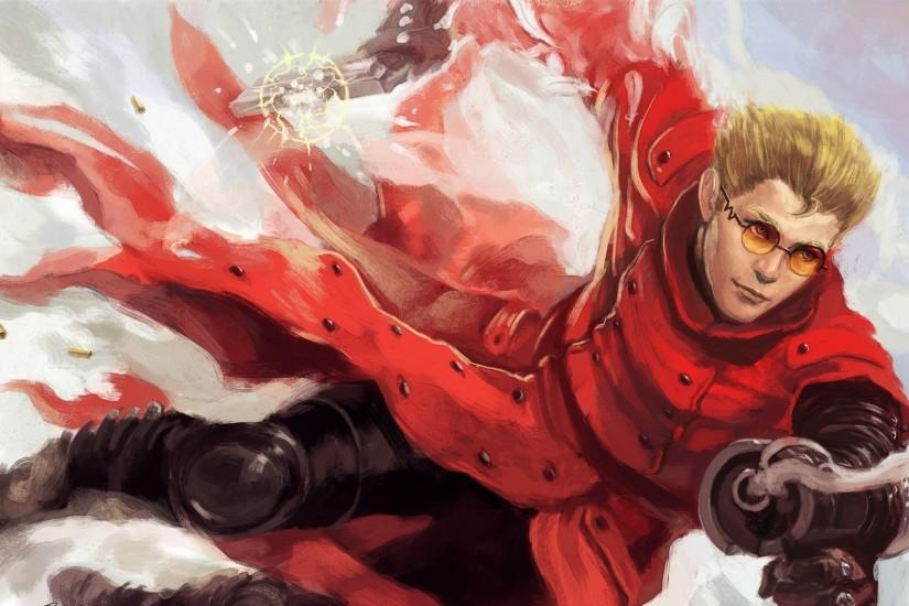 Art Trigun Vash The Stampede Wallpaper