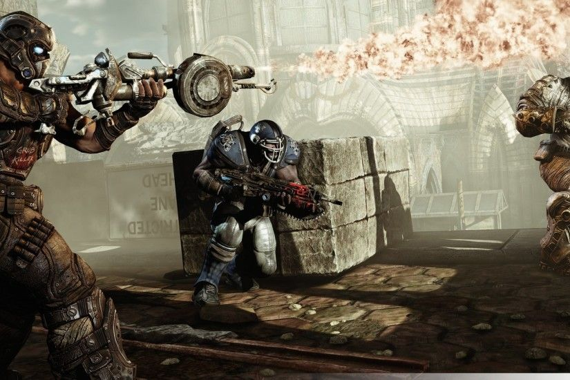 Gears Of War 3 Gameplay
