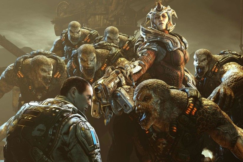 Gears Of War 3 Wallpapers HD Download