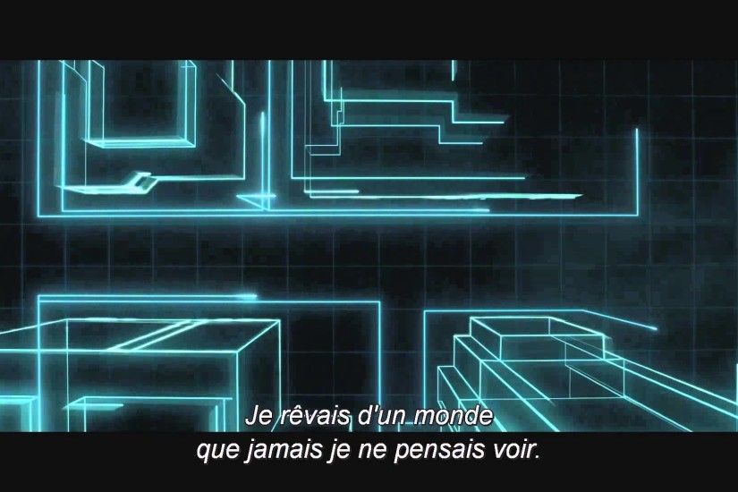 Tron Legacy - Introduction: part 1 (Daft Punk - The Grid) (VOSTFR) - YouTube