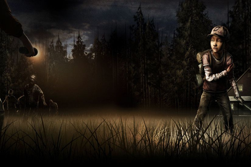 ... The Walking Dead: Season 2 'Clementine Wallpaper' by delta0zero