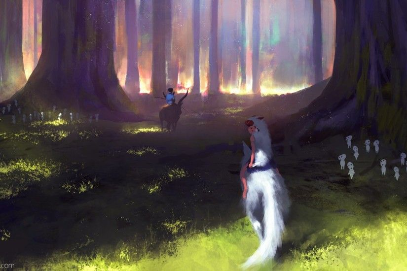 Movie - Princess Mononoke Wallpaper