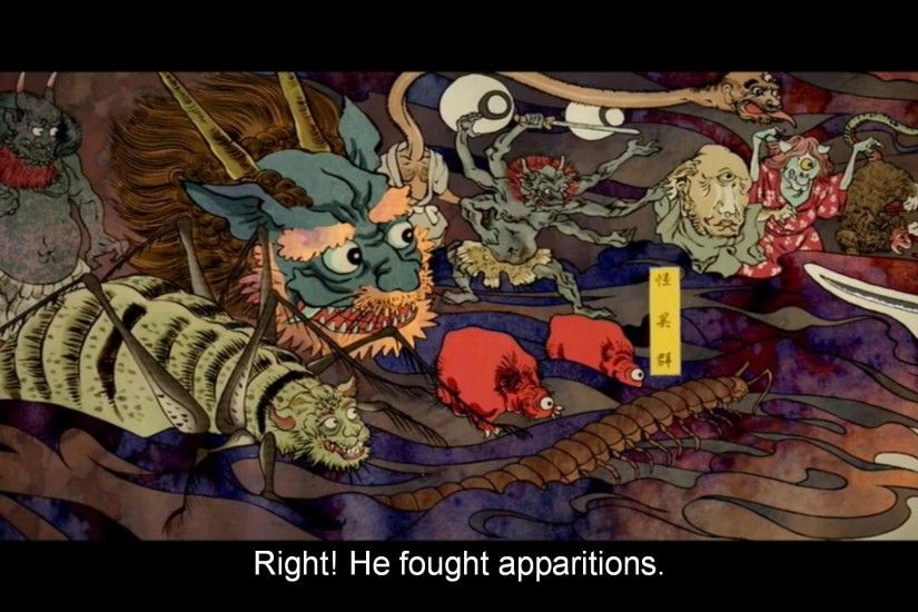... strongly aping ukiyo-e art styles of the 18th and 19th centuries. Not  exactly a historically or stylistically unified episode, but still a really  fun ...