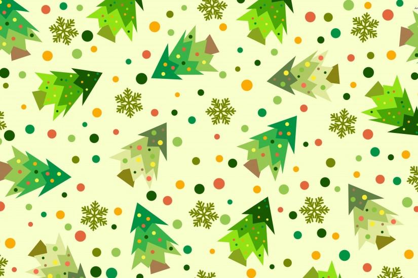 vintage christmas pattern background
