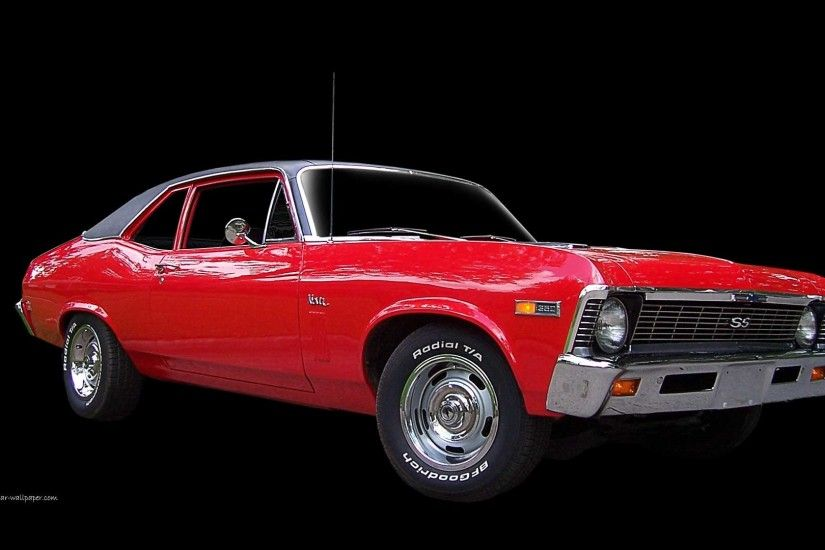 1969 Chevrolet Nova - Red - Right Front View | 1920_01