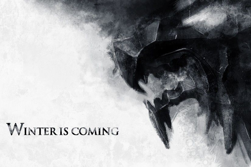 Game of Thrones - Winter is Coming (Stark) 1920x1200 wallpaper