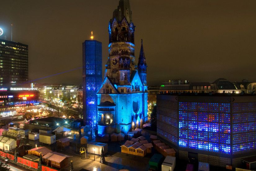 Night Cathedral in Berlin