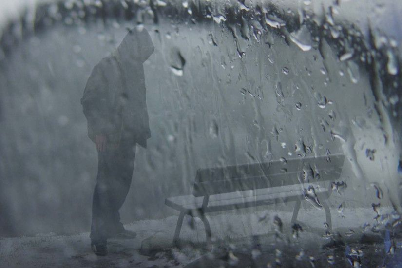 ... Alone Boy Standing In Rain Pic Boys Wallpapers Men Wallpapers Guys  Models 1080P Hd Wallpapers ...