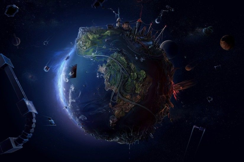 Earth FHDQ Wallpaper