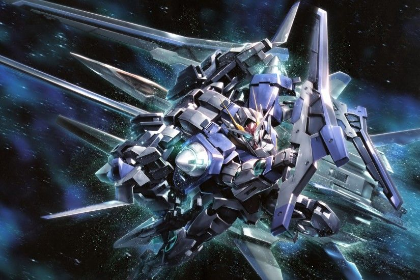 Mobile Suit Gundam 00, Anime, Space, Gundam, Mech, Robot Wallpapers HD /  Desktop and Mobile Backgrounds