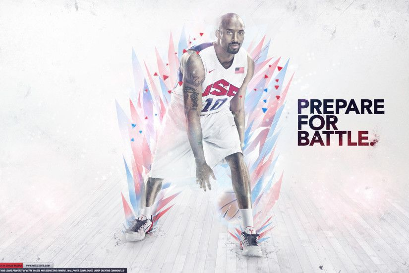 Kobe Bryant – 'Team USA' (WALLPAPER)