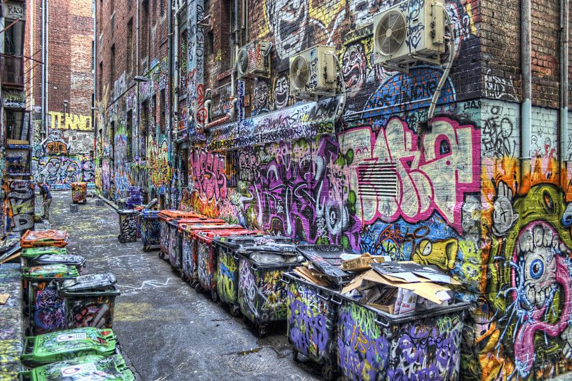 Graffiti HD Desktop Wallpapers A14