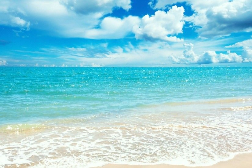 Summer Beach - Wallpaper, High Definition, High Quality, Widescreen