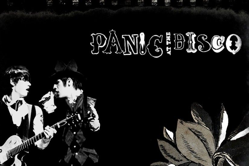 1920x1080 Preview wallpaper panic at the disco, band, members, action,  flower 1920x1080