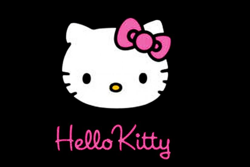 Hello Kitty Black Backgrounds, wallpaper, Hello Kitty Black .