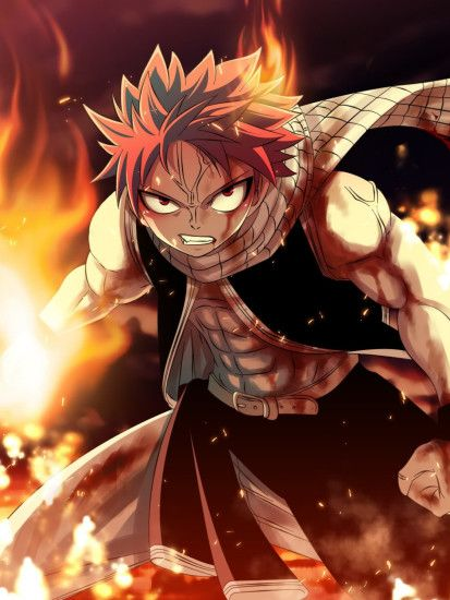 HD Wallpaper Fairy Tail Natsu Dragneel