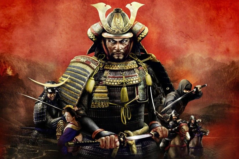 General 2560x1600 Total War: Shogun 2 samurai warrior video games katana