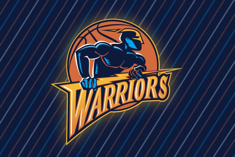 GOLDEN STATE WARRIORS Nba Basketball retro logo