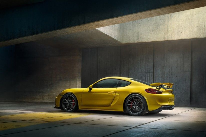 Excellent Porsche Cayman GT4 Wallpaper 47780