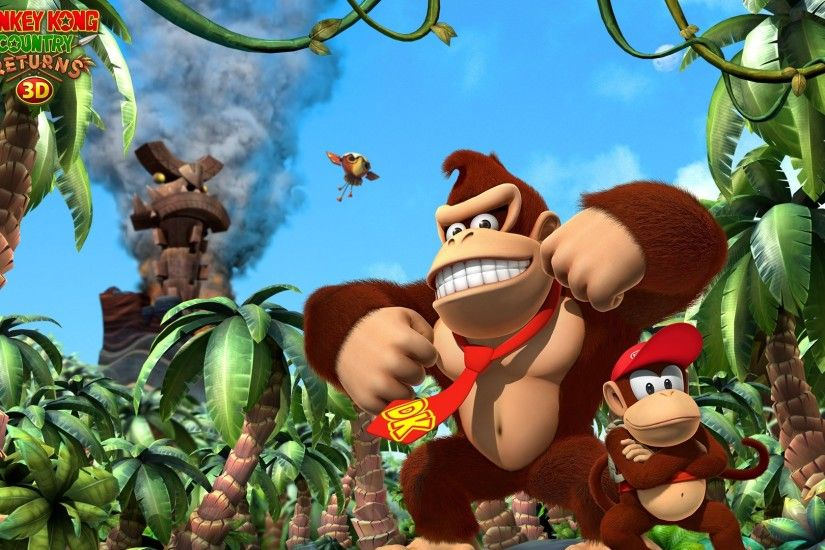 Donkey Kong Country Returns 3D HD Wallpaper | Hintergrund | 1920x1080 |  ID:666833 - Wallpaper Abyss