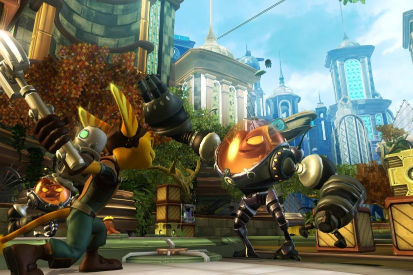 HD Wallpaper | Background ID:206527. 3840x2160 Video Game Ratchet & Clank  ...