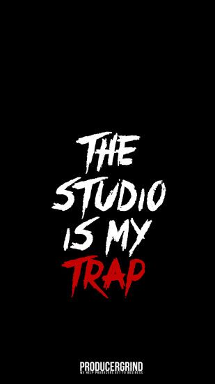 the studio is my trap iPhone 7 plus wallpaper (android/iPhone)