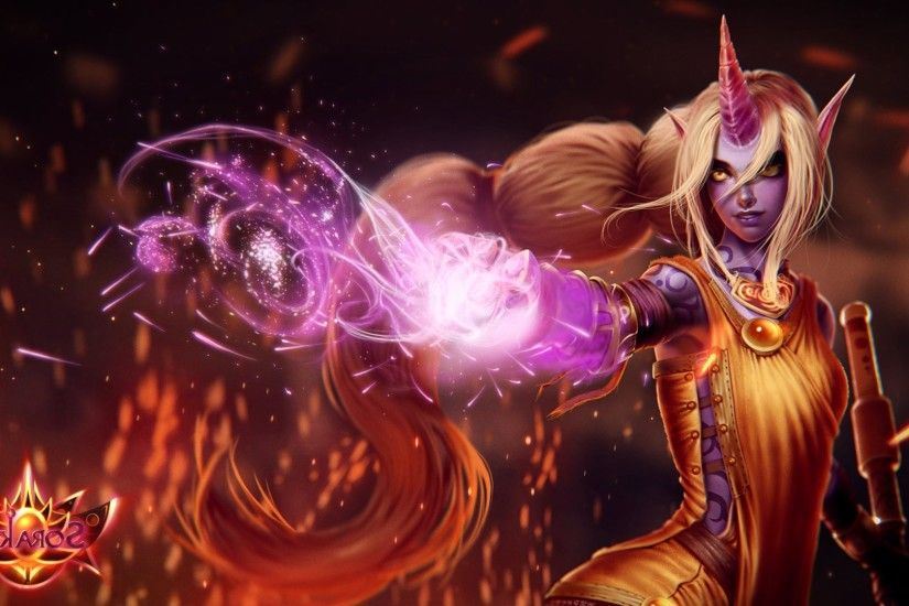 League Of Legends, Soraka Wallpapers HD / Desktop and Mobile Backgrounds