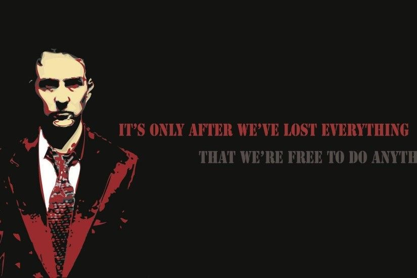Fight Club quote Wallpaper #