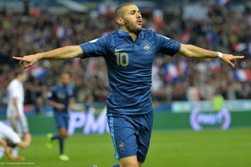 karim benzema football player hd widescreen wallpaper