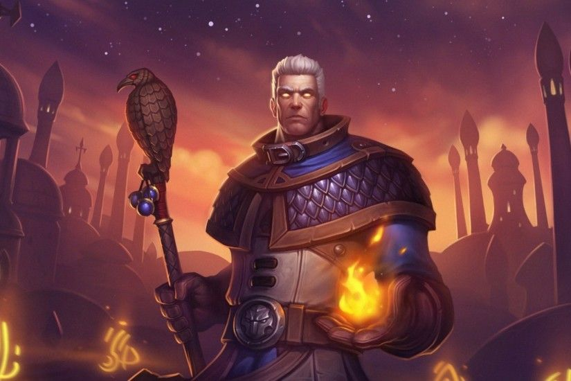 Preview wallpaper hearthstone, khadgar, mage 1920x1080