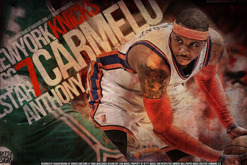 Carmelo Anthony Knicks by IshaanMishra Carmelo Anthony Knicks by  IshaanMishra